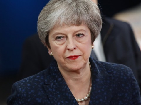 What time is the vote of confidence for Theresa May today?