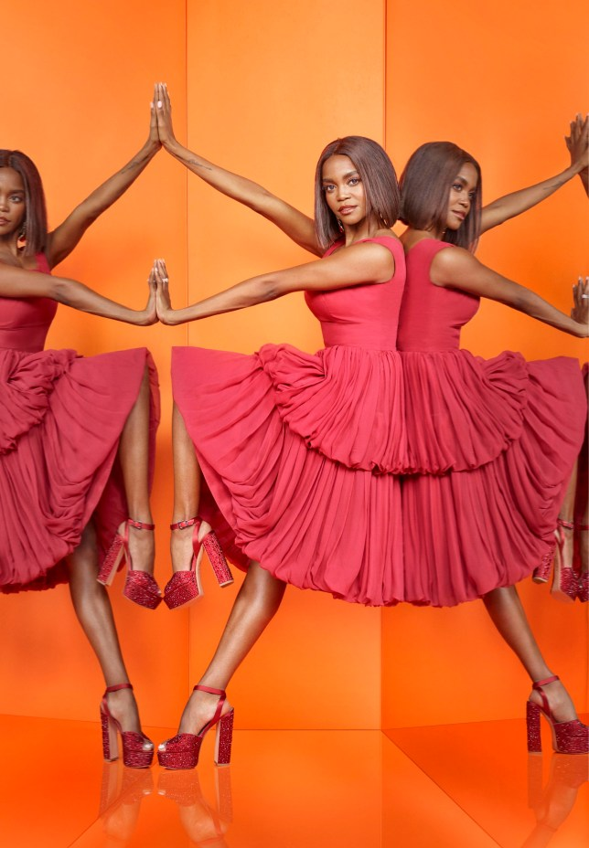 For use in UK, Ireland or Benelux countries only Undated BBC handout photo of Oti Mabuse from the new BBC1 talent show, The Greatest Dancer. PRESS ASSOCIATION Photo. Issue date: Sunday November 25, 2018. See PA story SHOWBIZ Dancer. Photo credit should read: David Ellis/Syco/Thames/BBC/PA Wire NOTE TO EDITORS: Not for use more than 21 days after issue. You may use this picture without charge only for the purpose of publicising or reporting on current BBC programming, personnel or other BBC output or activity within 21 days of issue. Any use after that time MUST be cleared through BBC Picture Publicity. Please credit the image to the BBC and any named photographer or independent programme maker, as described in the caption.