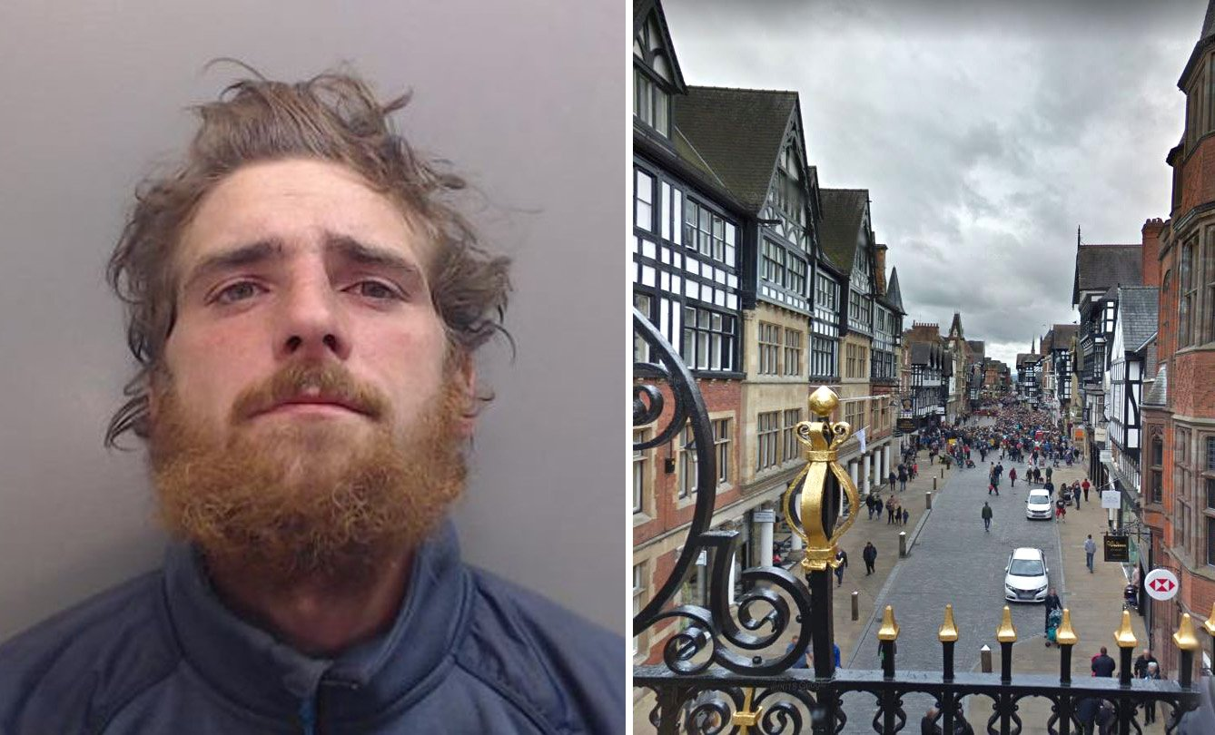 Spice user banned from every car park in county because he keeps urinating in them