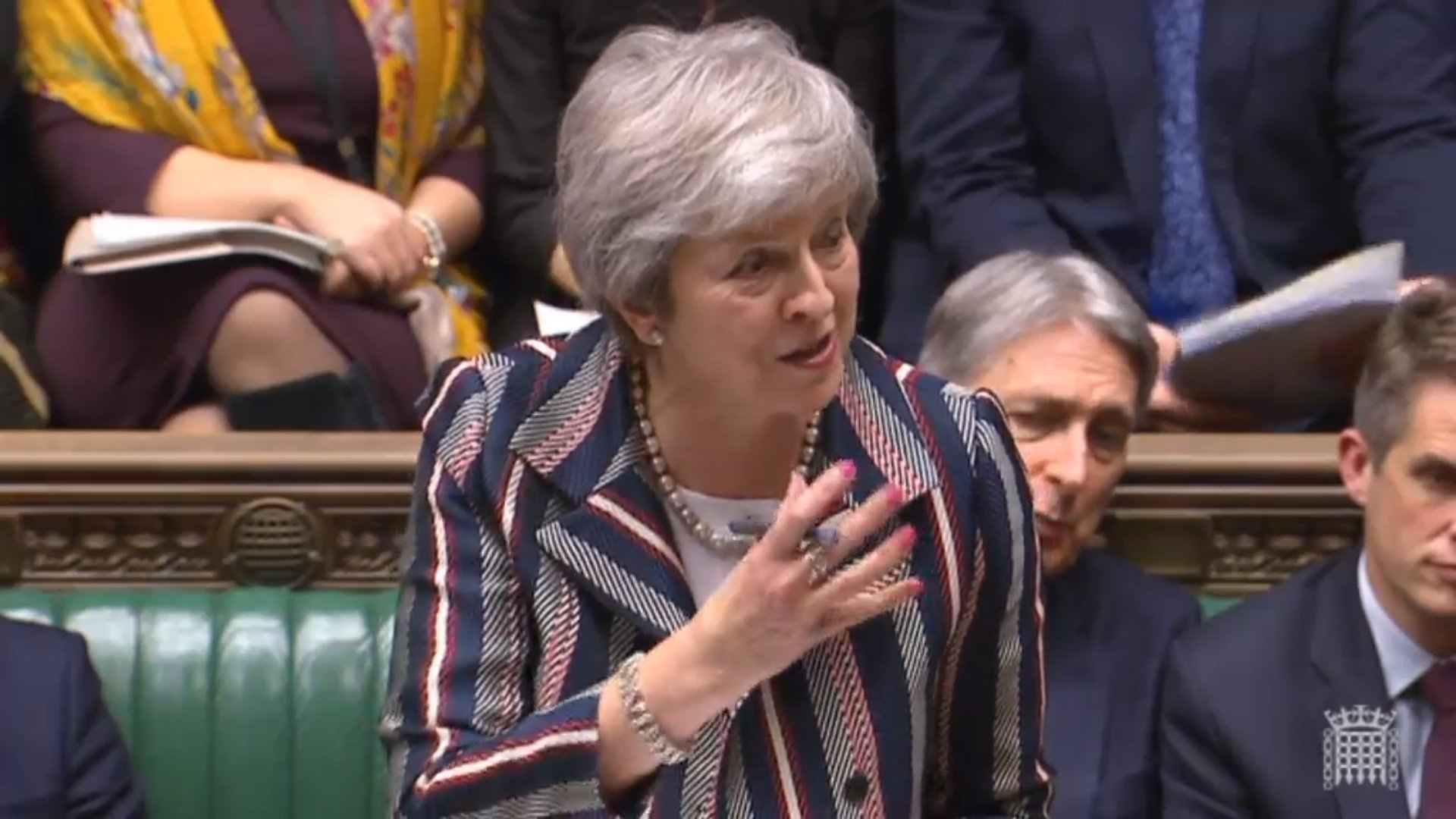 Theresa May admits she and the EU are not 'entirely happy' with Brexit deal
