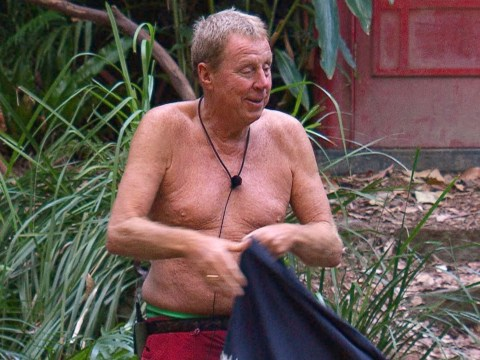 I'm A Celebrity fans even more in love with Harry Redknapp after spotting the secret message on his bed
