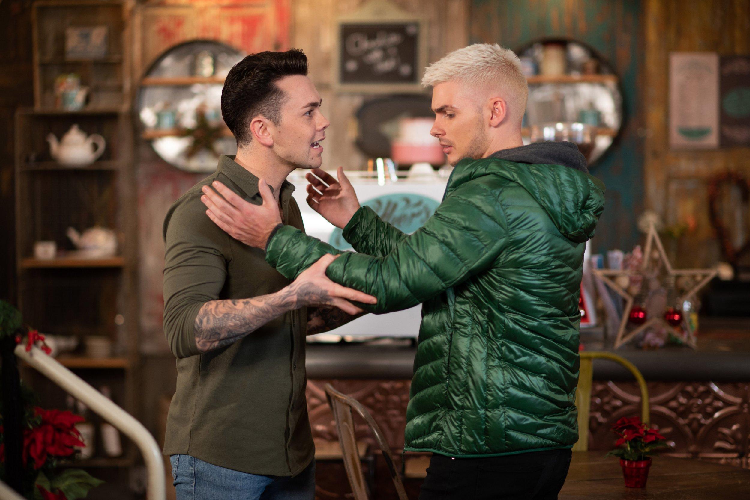 Hollyoaks spoilers: Ste Hay kisses Jonny as radicalisation storyline begins
