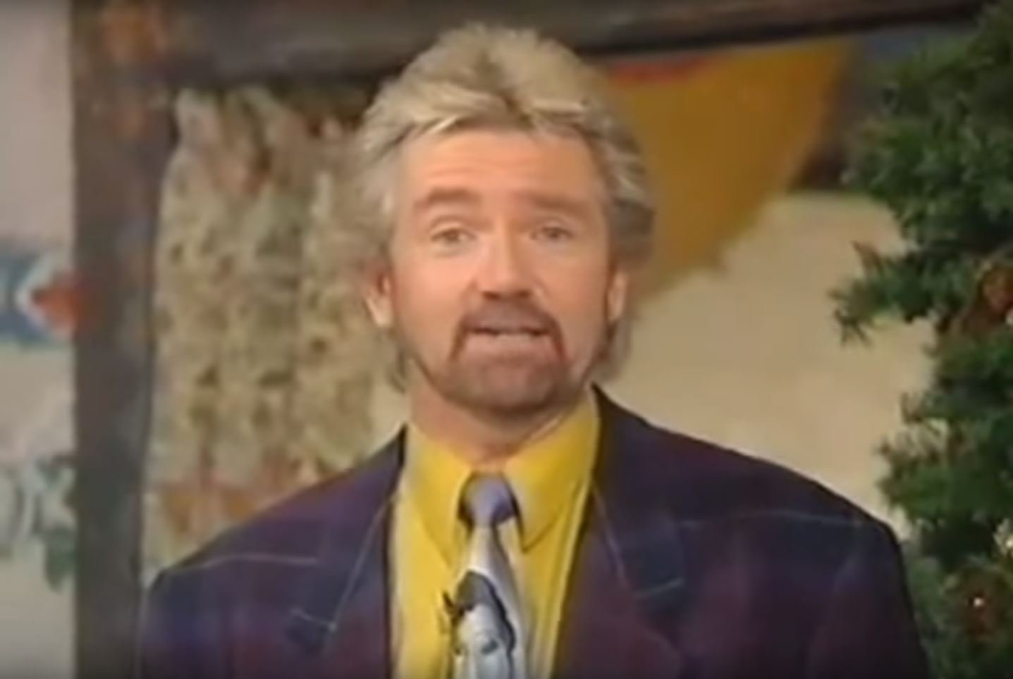 Picture: BBC Piers Morgan is slimed by Noel Edmonds as retro house party footage is unearthed