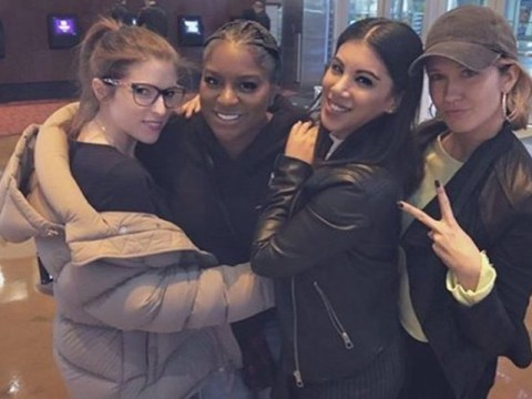 Anna Kendrick posts a mini Pitch Perfect reunion photo on Instagram, teasing fans with possible sequel