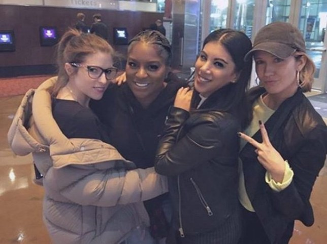 Anna Kendrick hangs with her Pitch Perfect castmates amid rumours of a fourth film