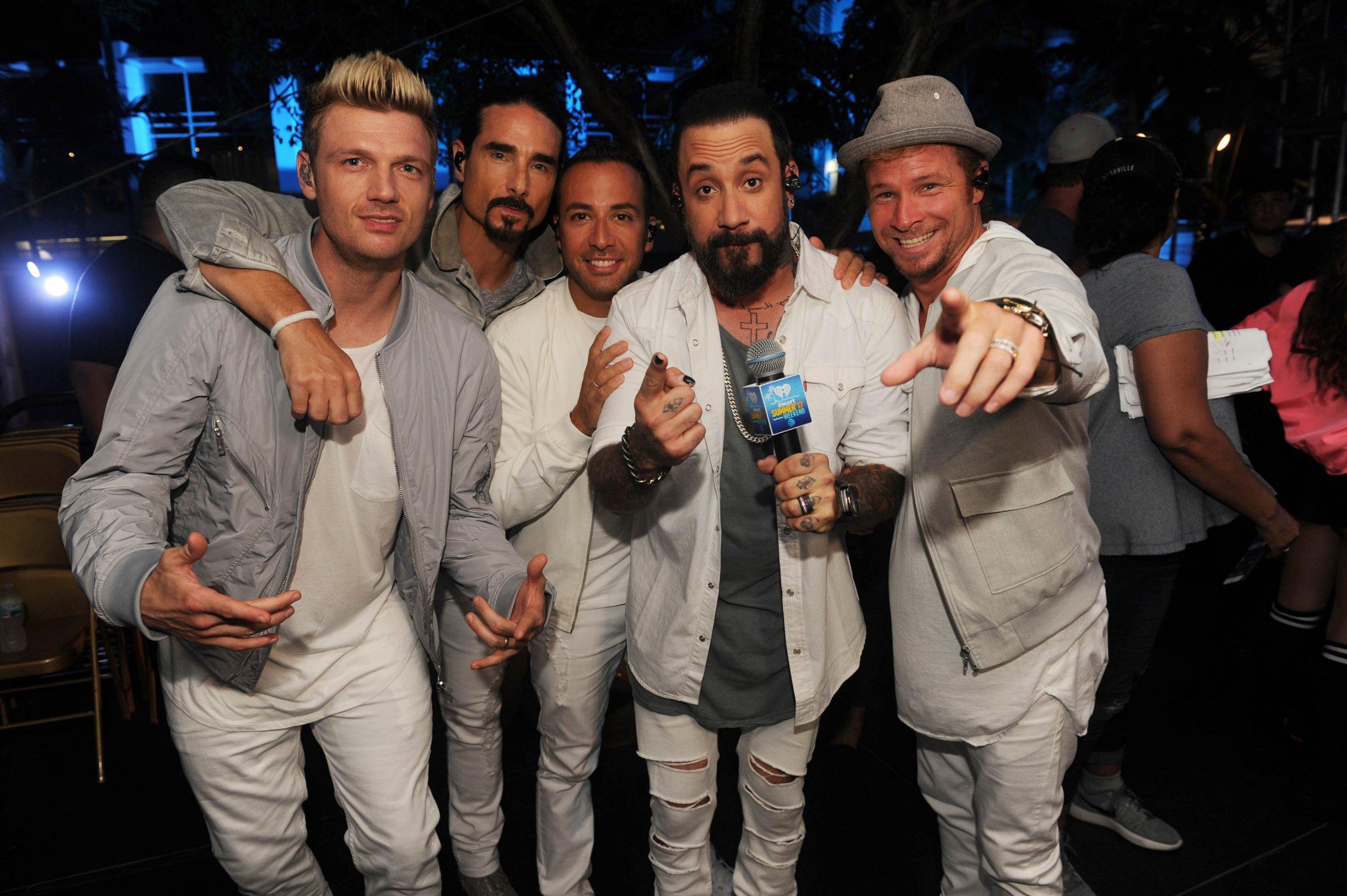 Mandatory Credit: Photo by Startraks/REX/Shutterstock (8862915p) Backstreet Boys iHeartSummer '17 Weekend, Day Two, Miami, USA - 10 Jun 2017 iHeartSummer '17 Weekend.