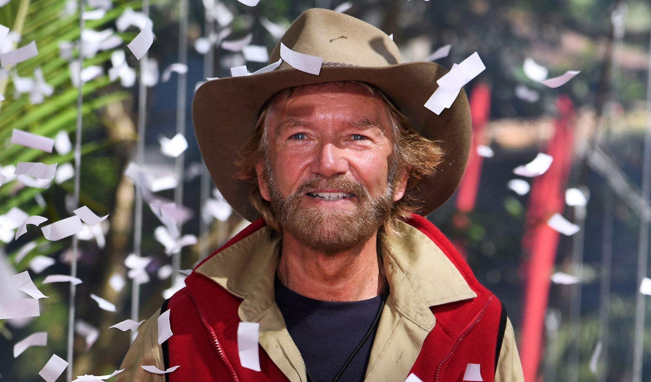 Mandatory Credit: Photo by James Gourley/REX (10010462af) Noel Edmonds is evicted 'I'm a Celebrity... Get Me Out of Here!' TV Show, Series 18, Australia - 30 Nov 2018