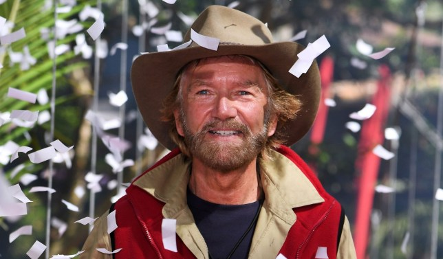Mandatory Credit: Photo by James Gourley/REX (10010462af) Noel Edmonds is evicted 'I'm a Celebrity... Get Me Out of Here!' TV Show, Series 18, Australia - 30 Nov 2018