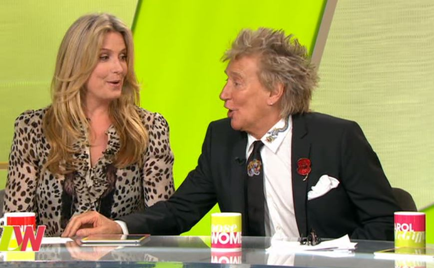 Sir Rod Stewart demands to be called 'Sir' by Andrea McLean 'car crash' Loose Women interview