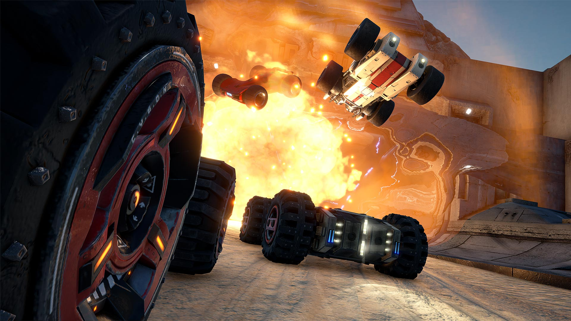 GRIP: Combat Racing (NS) - Oh, what a feeling, when we're driving on the ceiling