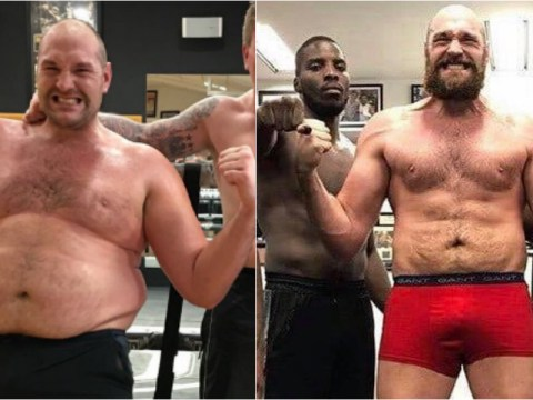 Tyson Fury shows off remarkable weight loss in last 12 months with latest snap