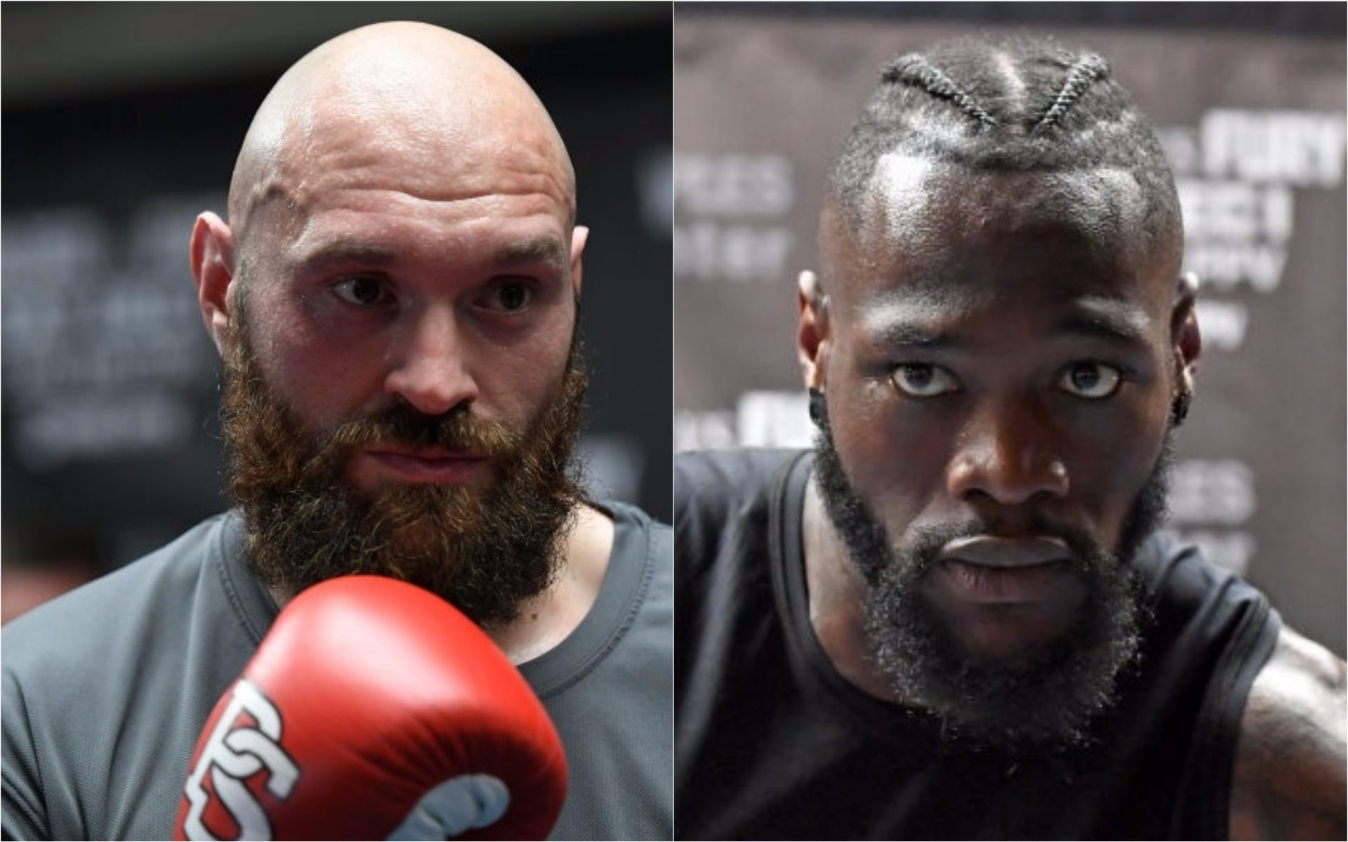 Anthony Joshua reveals his prediction for Deontay Wilder vs Tyson Fury