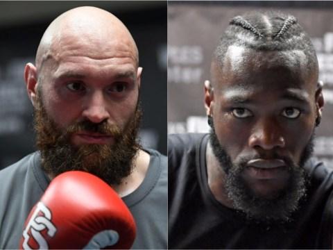 Anthony Joshua reveals his prediction for Deontay Wilder vs Tyson Fury