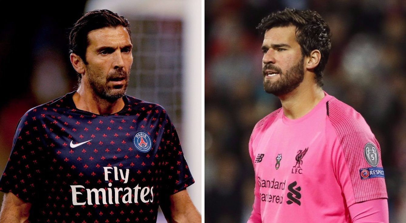 Gianluigi Buffon explains why he sees Alisson as a future 'great' of goalkeeping