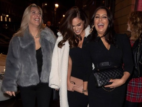 Vicky Pattison blasts 'pathetic' ex-fiance John Noble as she takes off engagement ring for night on the toon