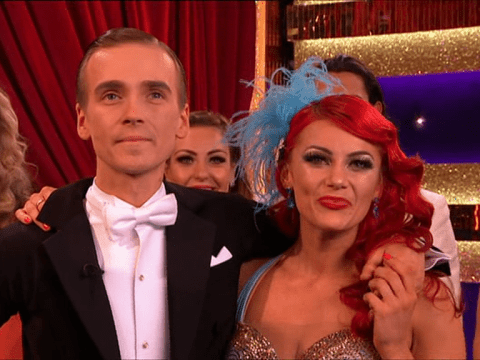 Joe Sugg in tears on Strictly Come Dancing after scoring three 10s with dance dedicated to his nan