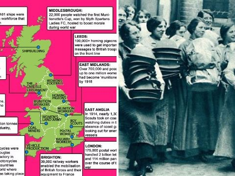 Map reveals terrifying scale of Home Front during First World War
