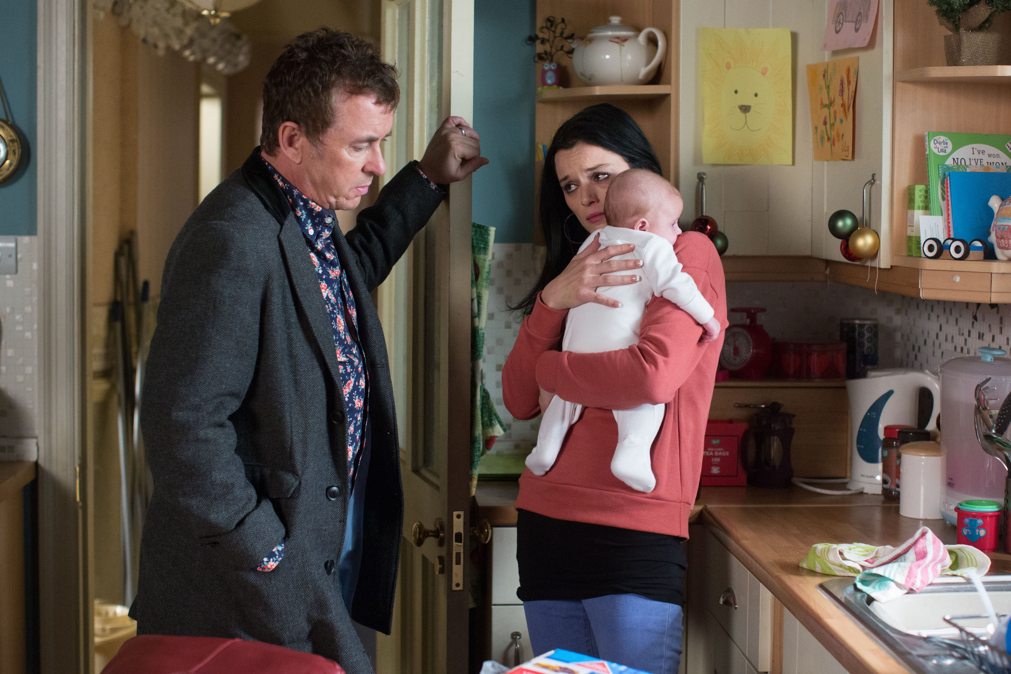 EastEnders spoilers: Hayley Slater finally names her baby tonight