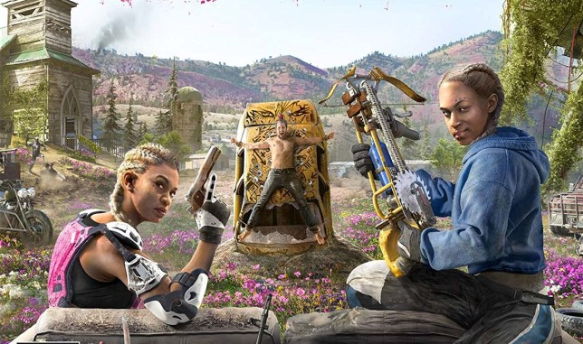 Far Cry: New Dawn - after the bombs have dropped