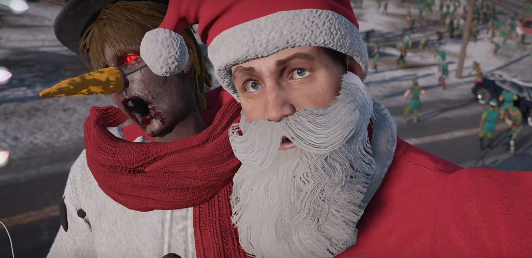 Dead Rising 4 can be surprisingly Christmassy