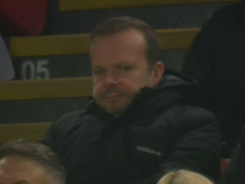 Ed Woodward shows anger during Manchester United's defeat to Liverpool