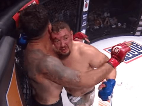 Bellator 212: Frank Mir forced to tap out to strikes vs Javy Ayala after losing teeth and mouthguard