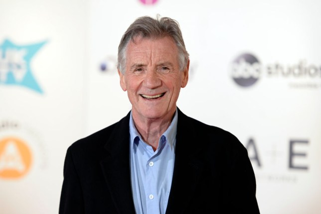 Michael Palin on red carpet