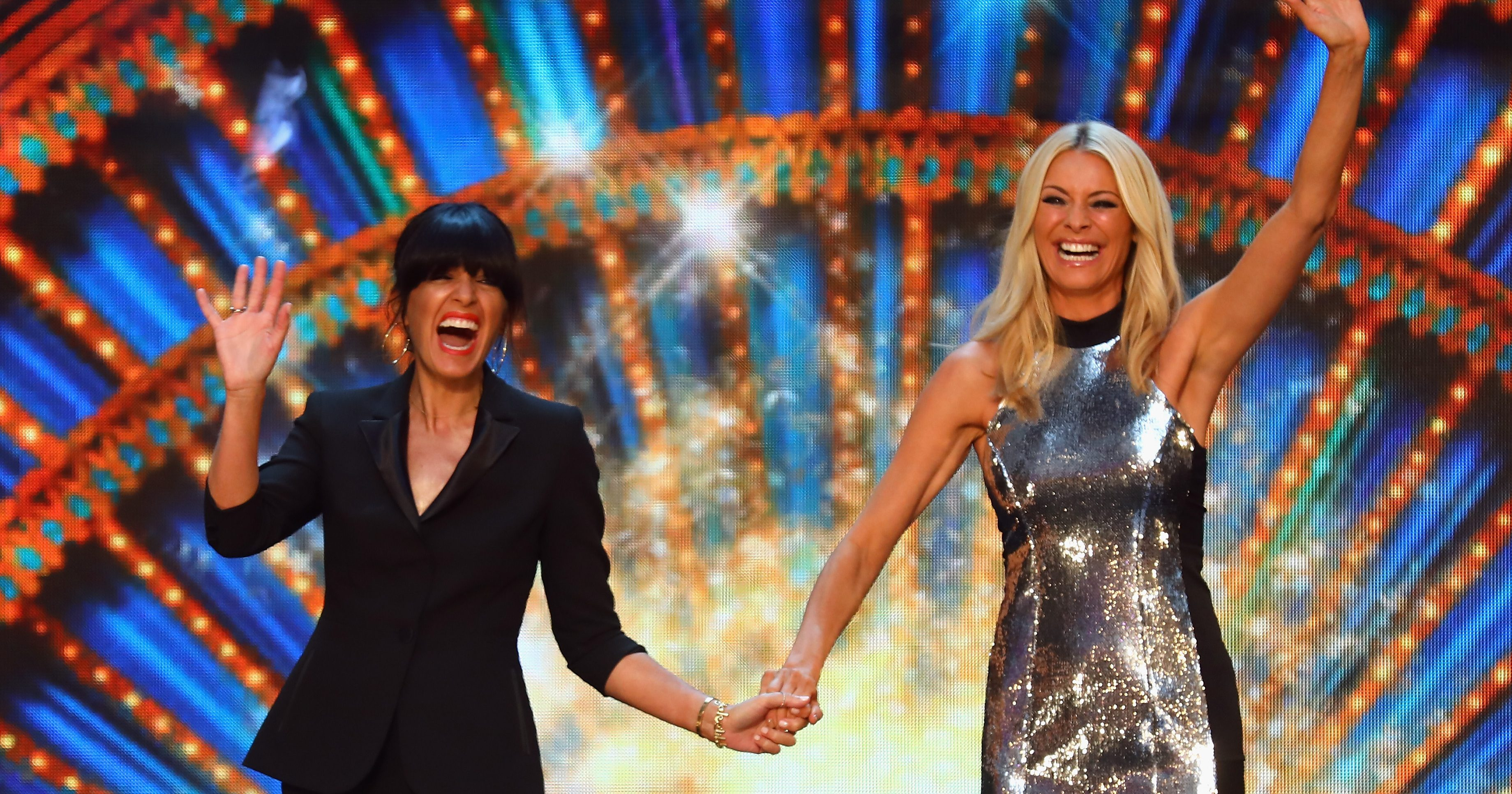 Claudia Winkleman and Tess Daly to dance for 24 hours straight and frankly we're already sweaty