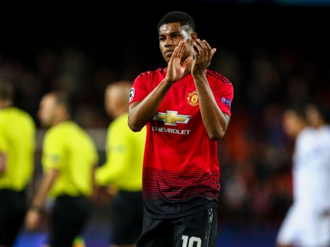 Marcus Rashford tells Manchester United team-mates how to beat Liverpool