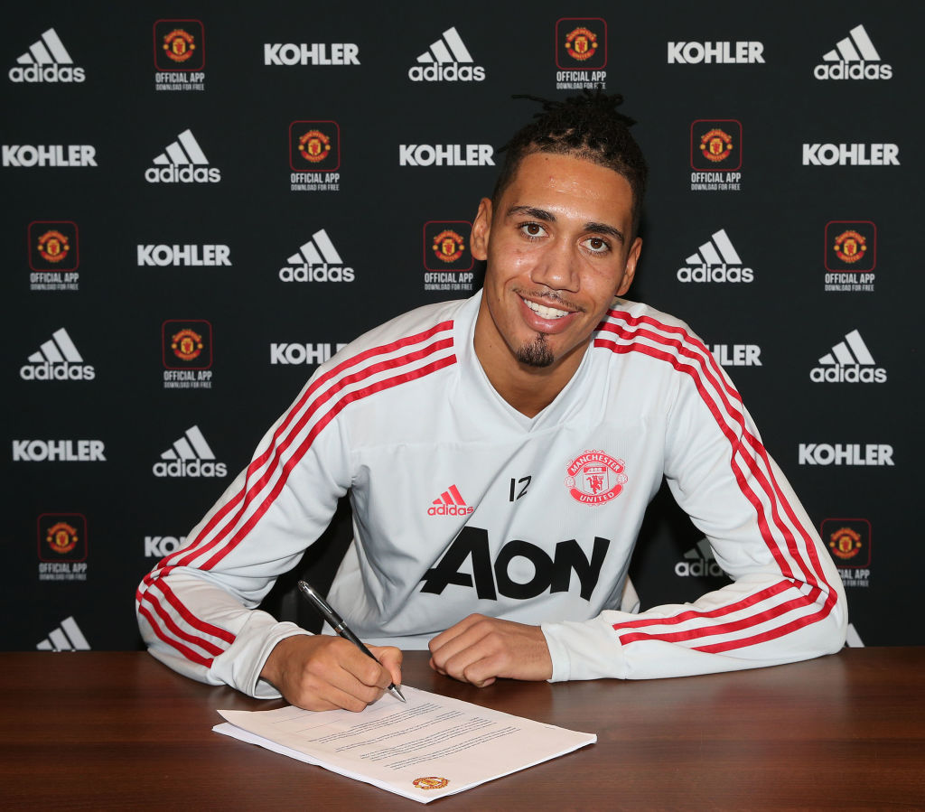 Manchester United boss Jose Mourinho 'very happy' to see Chris Smalling sign long-term contract