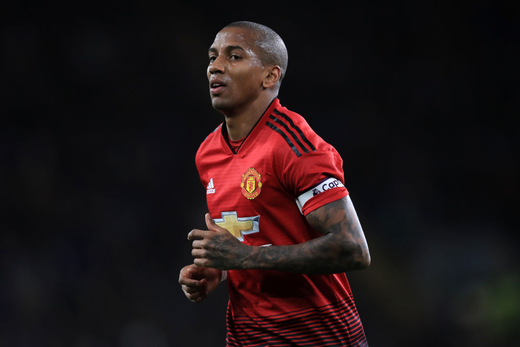 Ashley Young sheds light on Manchester United players celebrating Jose Mourinho sacking