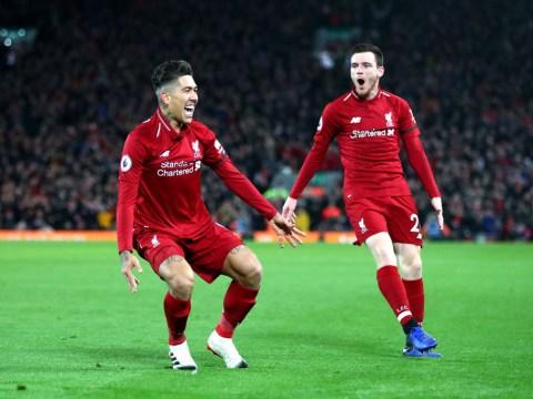 Roberto Firmino sets Premier League record as Liverpool smash Arsenal