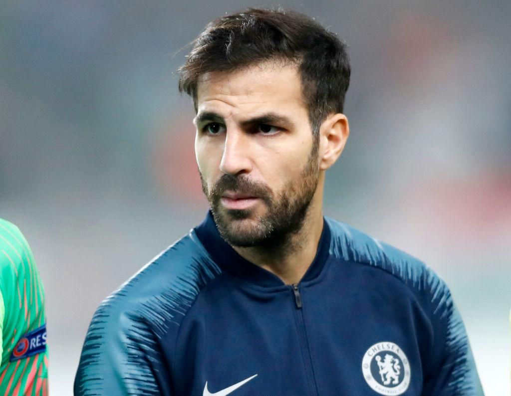 Cesc Fabregas has one final target before leaving Chelsea in the January transfer window