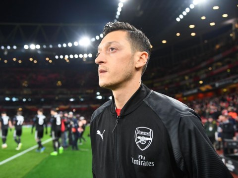 Arsenal provide Mesut Ozil fitness update ahead of West Ham clash
