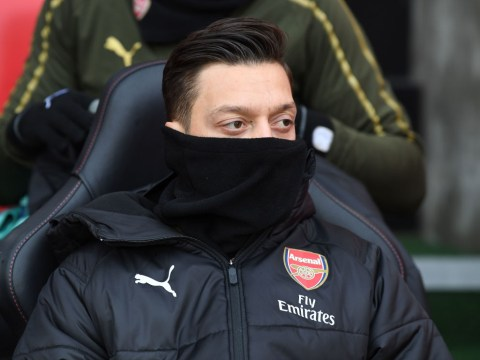 Ian Wright demands answers from Unai Emery after he axes Mesut Ozil again