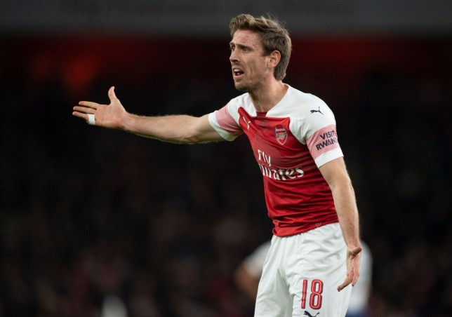 Image result for monreal and koscielny 2019