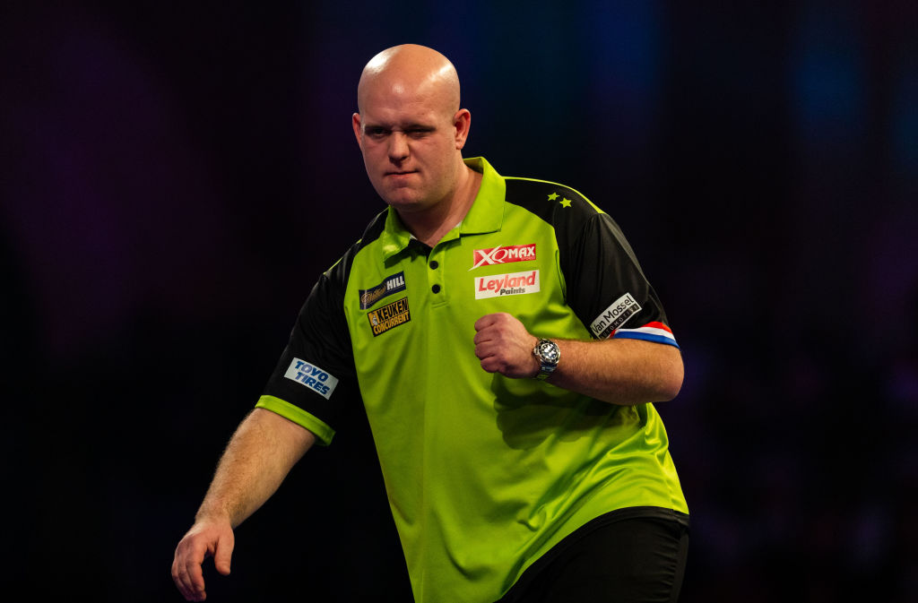 Michael van Gerwen sets up Gary Anderson clash by battering Ryan Joyce at PDC World Championship