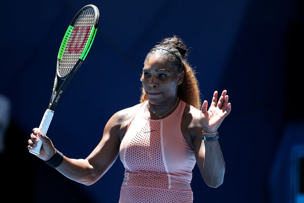 Serena Williams plays down ankle injury fears as she gears up for Roger Federer clash