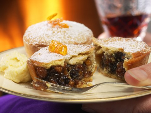 Why do we put out brandy, mince pies and carrots for Santa?