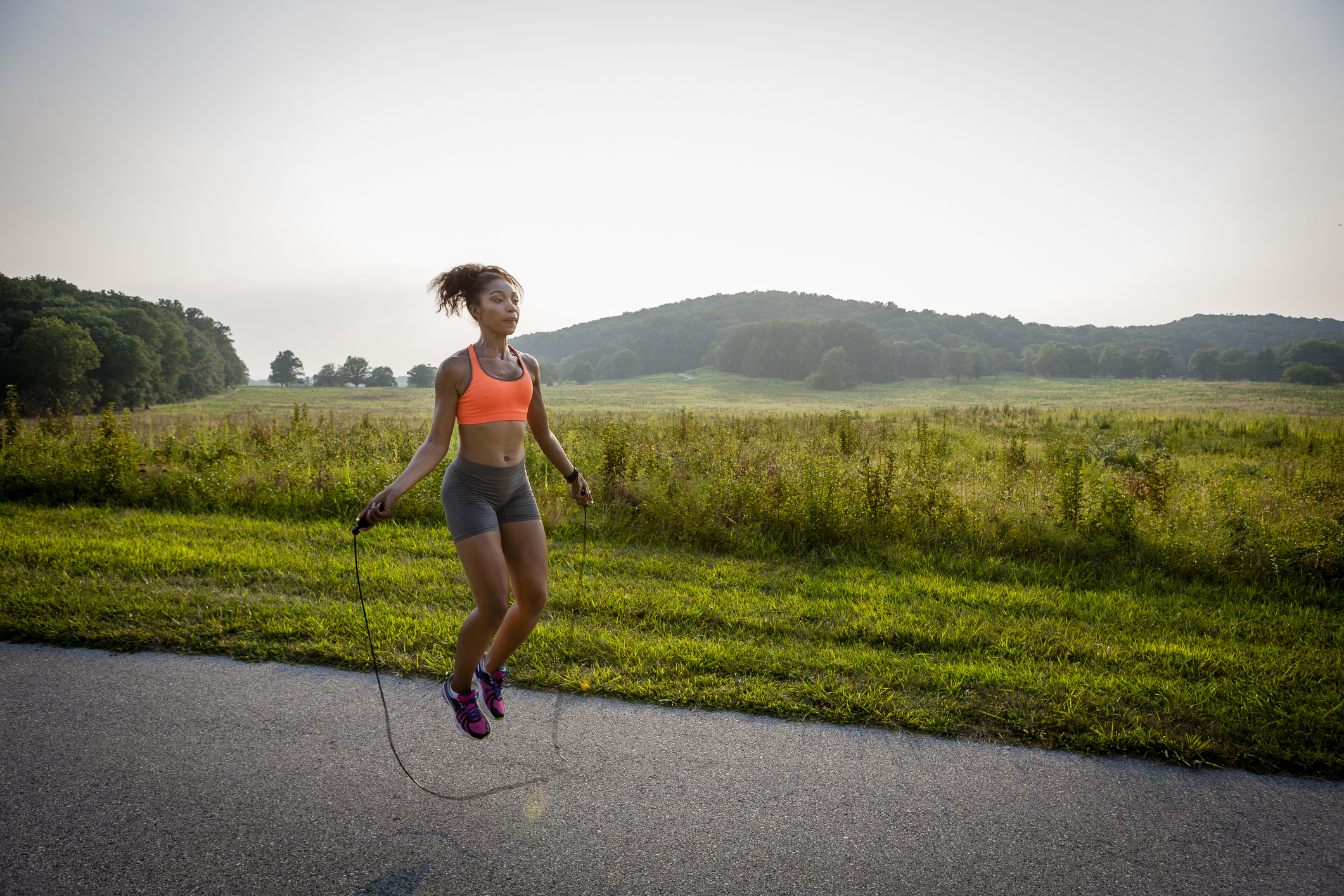 This is why skipping is such amazing cardio