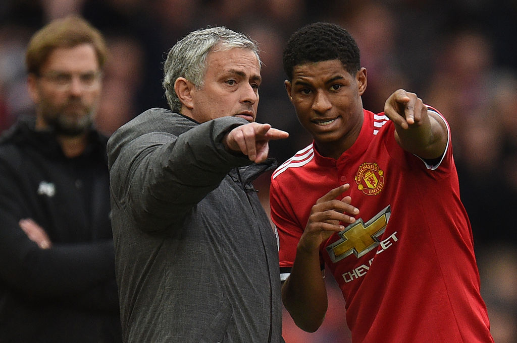 Manchester United star Marcus Rashford backs Jose Mourinho to inspire win over Liverpool