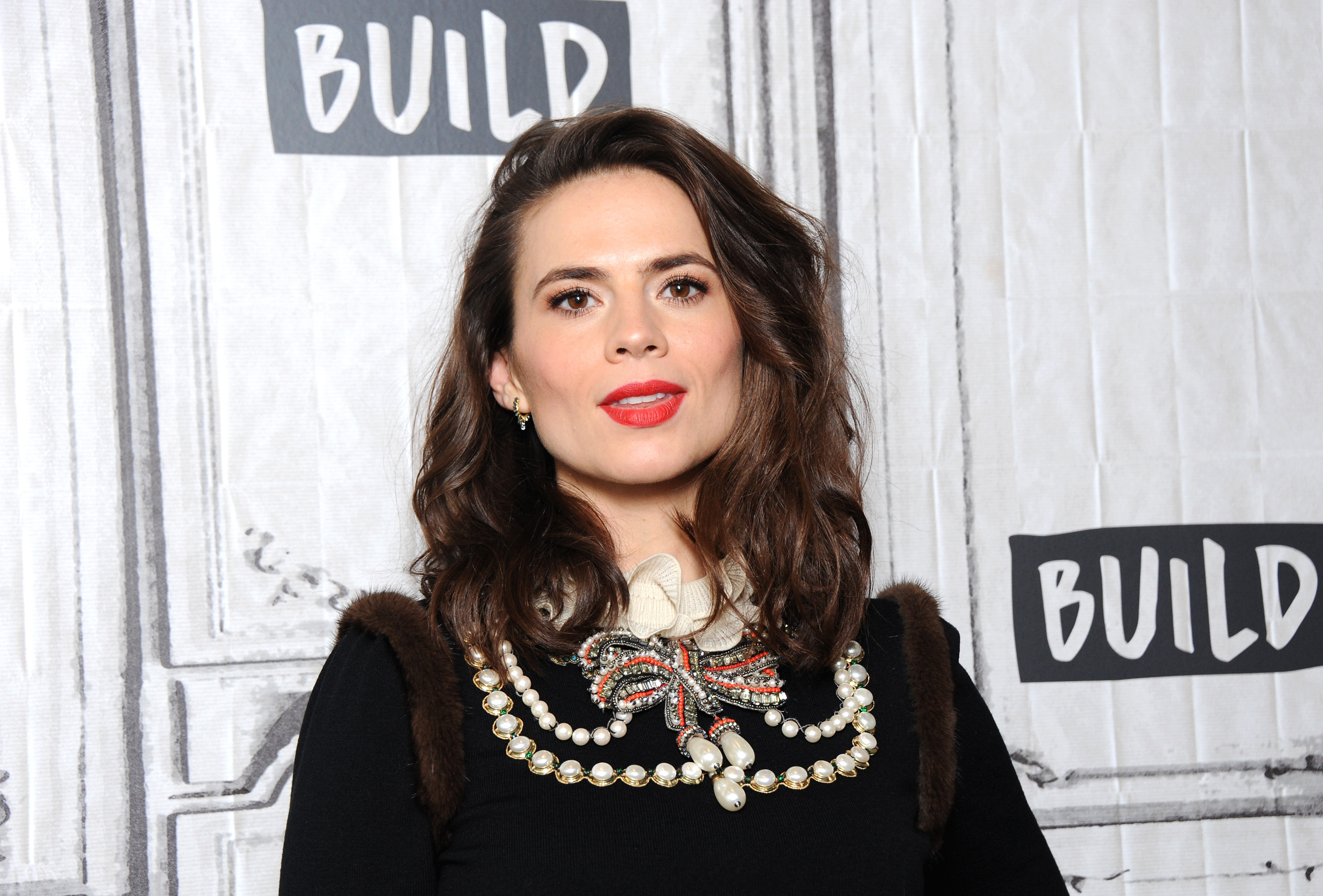 Captain America's Hayley Atwell 'target of nude leak as hackers threaten to release images'