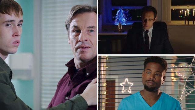 7 Holby City spoilers: A family shock for Fletch as Holby celebrates Christmas