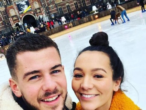Hollyoaks couple Rory Douglas-Speed and Nadine Mulkerrin get engaged in real life