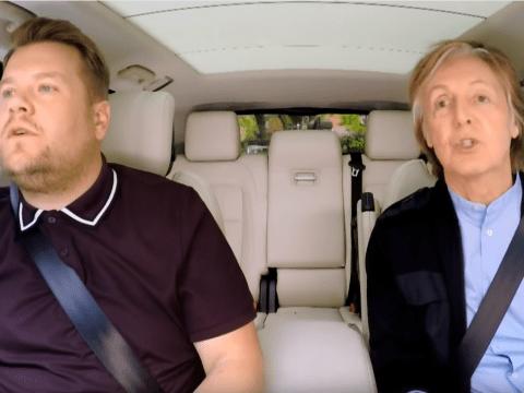Paul McCartney reveals he tried to pull out of Carpool Karaoke