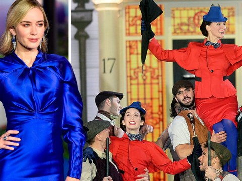 Emily Blunt looks supercalifragilisticexpialidocious at star-studded Mary Poppins Returns European Premiere