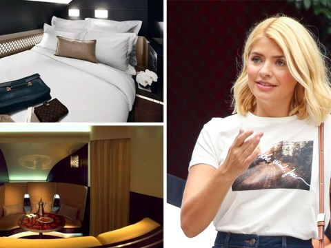 Holly Willoughby 'splashes out on £19,000 flight home with butler and private chef' after I'm A Celeb stint