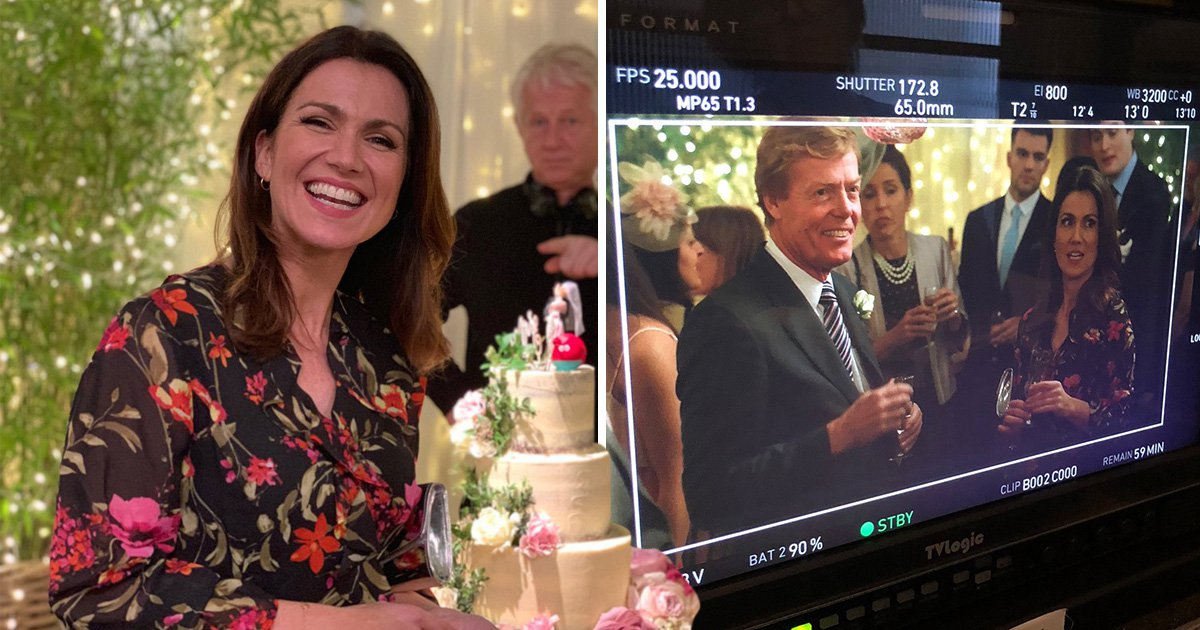 Susanna Reid flexes her acting chops in Four Weddings Red Nose Day special