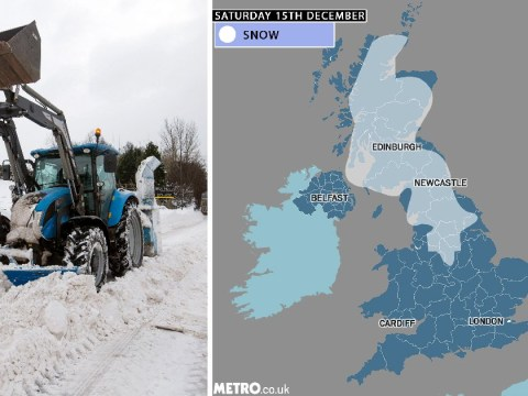 Britain to be hit by 15 inches of snow as winter takes hold