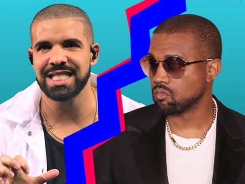 Kanye West is still wondering why Drake is following Kim Kardashian on Instagram